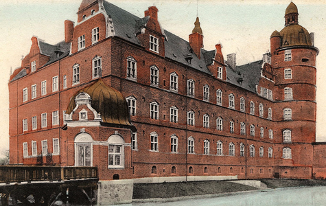 Vallø Slot i 1908.