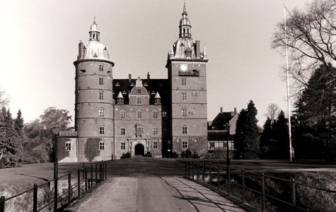 Vallø Slot i 1970'erne.