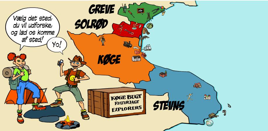 4 spændende kulturhistorier ved Køge Bugt